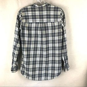 Madewell Tops - MADEWELL plaid cotton button down top
